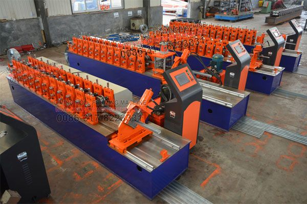 During the past 2 decades, we have manufactured and designed so many different machines, such as roof panel #roll #forming #machine, wall panel roll forming machine, double layer roll forming machine, triple layer roll forming machine, drywall profiles roll forming machine, ceiling profiles roll forming machine, door frame roll forming machine, c z purlin roll forming machine, floor deck roll forming machine, sandwich panel production line, light steel house frames roll forming machine.