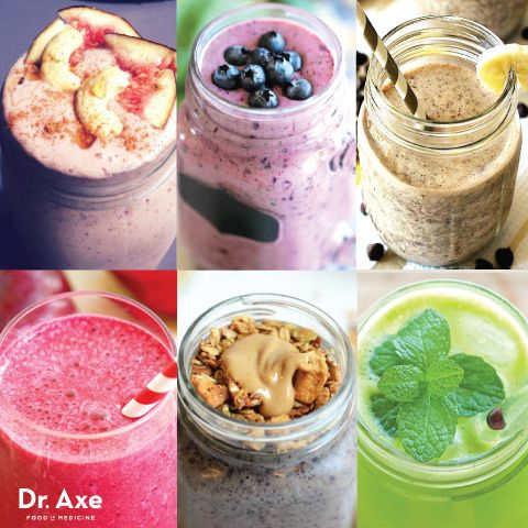 40 Healthy Smoothie Recipes You can also load them up with nutrient dense foods and supplements to help boost your immune system or  to give you an energizing power-punch to your metabolism. They require minimal equipment (just a blender) and, by storing them in a reusable drink bottle, you can have an on-the-go meal in minutes.