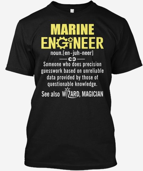 Marine Engineer Definition Shirt T And Hoodie From Teespring Gift