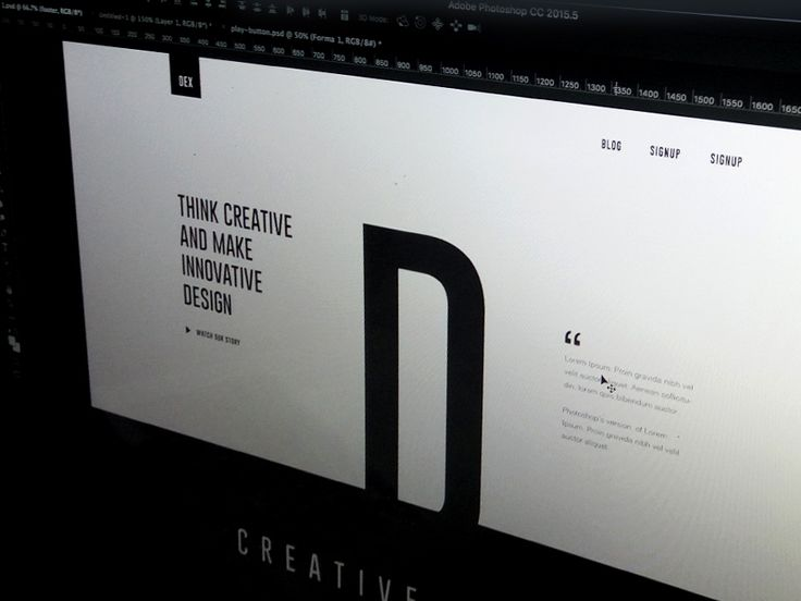 Hello Everyone, Working on a awesome project of creative landing page design…