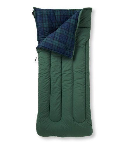 Camp Sleeping Bag, Flannel-Lined 20: Sleeping Bags | Free Shipping at L.L.Bean