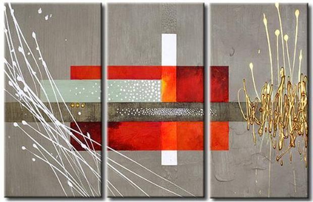 Cuadros tripticos modernos buscar con google cuadros - Cuadro decorativos modernos ...