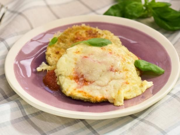 Get One Sheet Crispy Eggplant Parm Recipe from Food Network