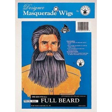Full Beard with Moustache
