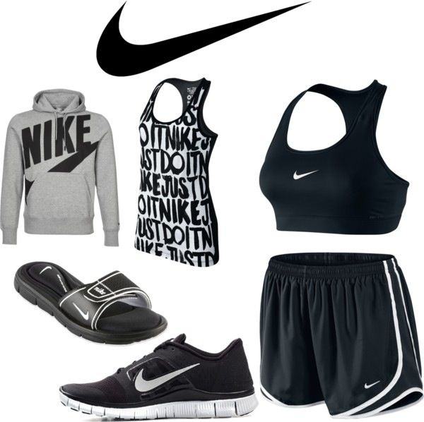 Nike workout clothes.