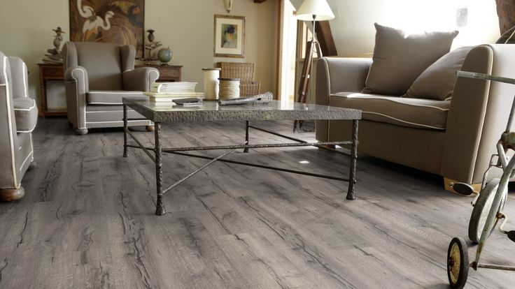 7 best böden vinyl images on Pinterest Gray, Homes and Ideas - Laminat Grau Wohnzimmer
