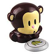 обезьяна стиль ветер автоматический сброс давления активирует ногтей сушки (питание от 2 ААА батареи)