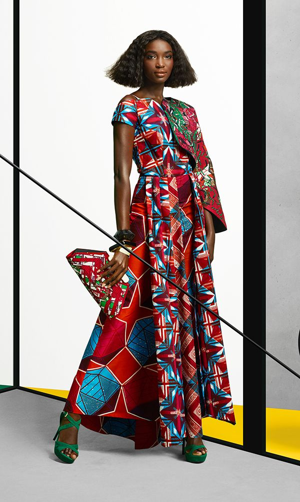 Luv that clutch! More great design from @VLISCO