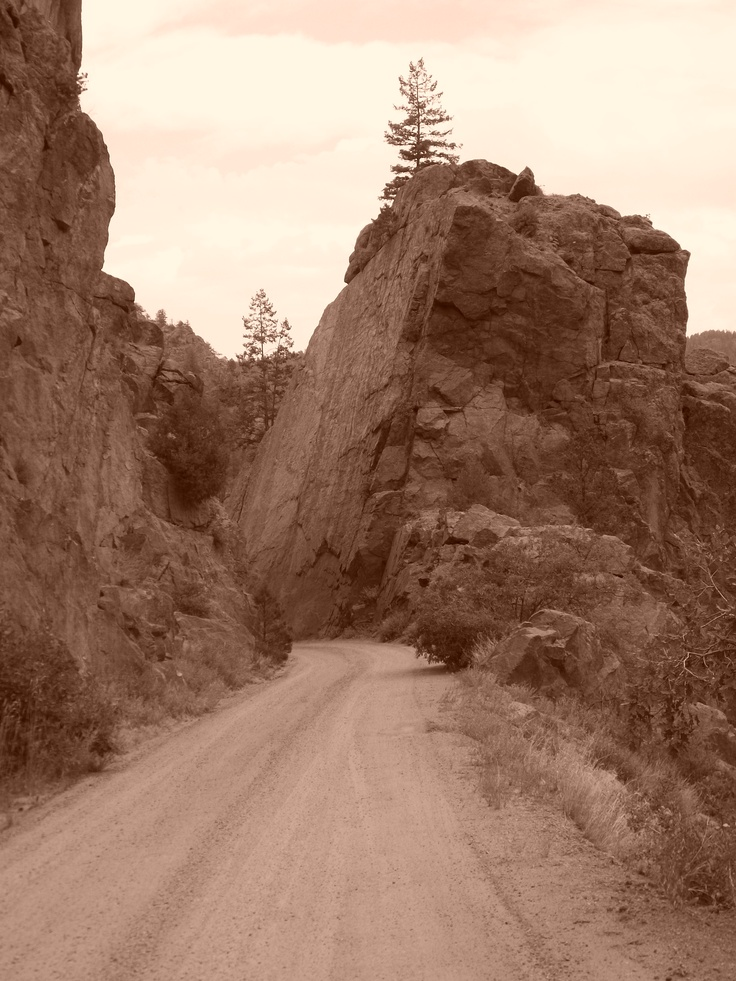The road to Cripple Creek...not for the faint of heart!