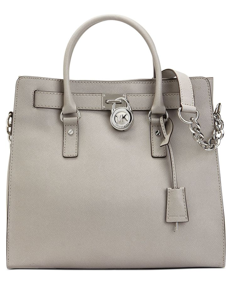 MICHAEL Michael Kors Handbag, Hamilton Saffiano Leather Tote - Shop All -  Handbags \u0026 Accessories - Macys