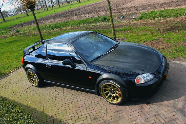 Honda Civic del Sol with a Mid-engine turbo B16