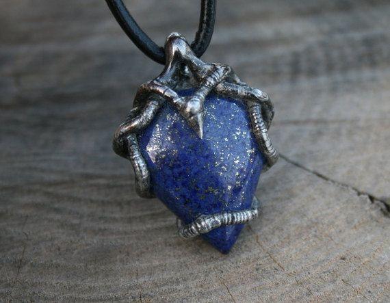 men necklace men pendant lapis lazuli by Blacksmithworkshop, #mennecklace, #menpendant, #bluependant