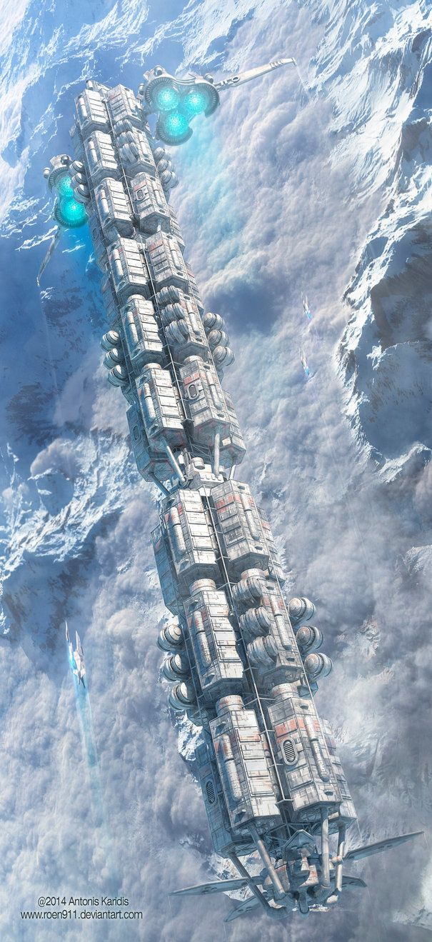 Strike Force by rOEN911 | Digital Art / 3-Dimensional Art / Vehicles / Futuristic | Sci-Fi Concept Spacecraft