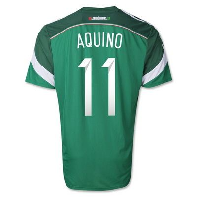 Mexico 2014 World Cup Soccer jersey (11 Aquino)- Mexico 2014 World Cup Soccer jersey (11 Aquino) designed with unique style and terrific quality is no longer expensive in this online shop. A big discount and free shipment of Mexico 2014 World Cup Soccer jersey (11 Aquino) is accompanied with your purchasing.- uswmis.com
