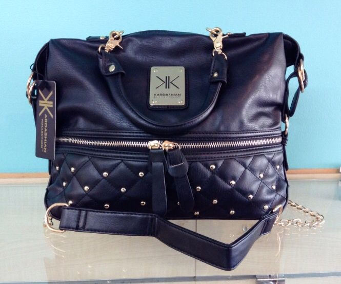 Kardashian Kollection Handbag in Black, sold by La Moda Boutique $49.95