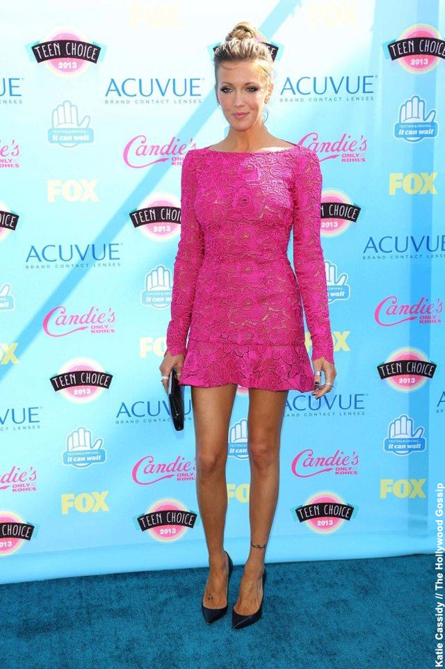 NewYorkDress Blog // The Teen Choice Awards 2013 // Click through for our top ten fashion favorites and a few NewYorkDress matches! // #KatieCassidy
