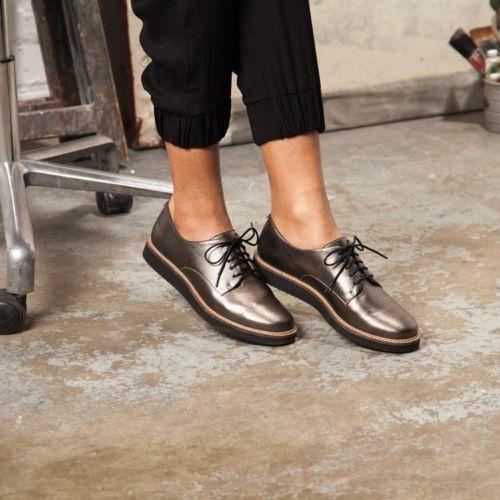 Glick Darby Champagne Metallic - Clarks Womens Shoes - Womens Heels and Flats - Clarks - Clarks® Shoes