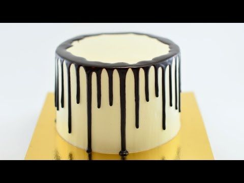 Как собрать и украсить торт - YouTube