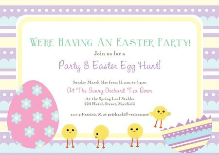 Best Diy Easter Invitations And Cards Images On
