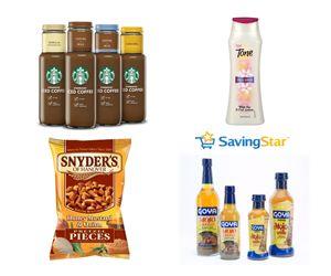 SavingStar Coupon Roundup – Tone Body Wash, Starbucks Bottled Iced Coffee   More!