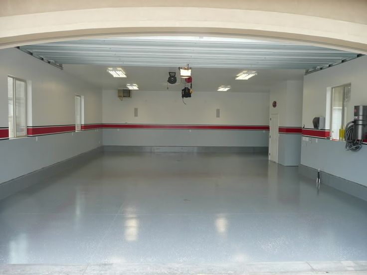 Best 25 Painted Garage Interior Ideas On Pinterest