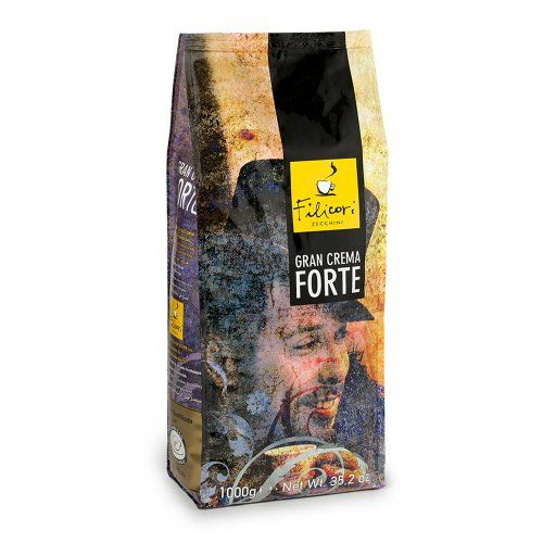 Filicori Zecchini Gran Crema Forte Whole Bean 2.2 lbs - http://teacoffeestore.com/filicori-zecchini-gran-crema-forte-whole-bean-2-2-lbs/