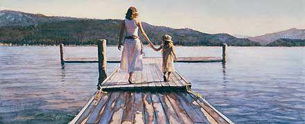 Time with Mom - Steve Hanks - World-Wide-Art.com - $50.00