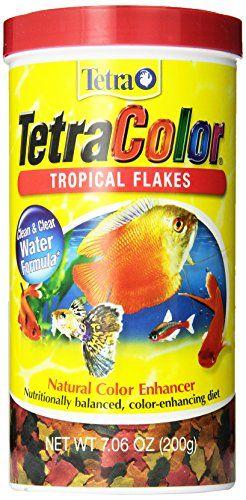 Tetra+16162+TetraColor+Tropical+Flakes,+7.06-Ounce,+1-Liter