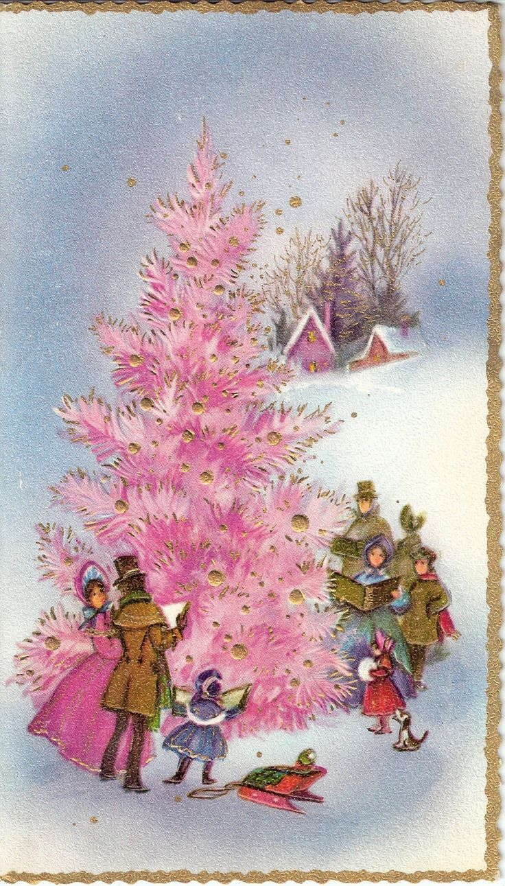 196 best Vintage xmas tree images images on Pinterest ...