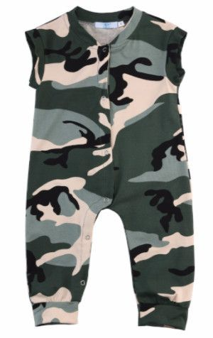 Camouflage Jumpsuit - Baby Boy
