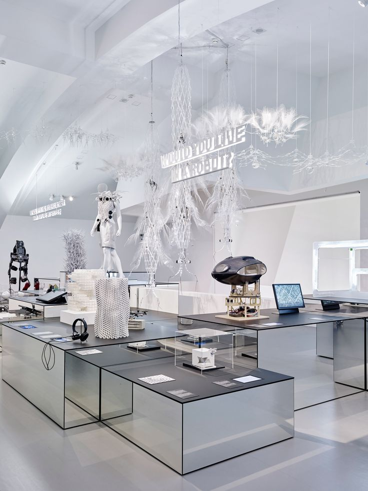 """""""Do you trust robots?"""" and """"Could a robot do your job?"""" are among the deep questions being posed to visitors at the Vitra Design Museum's latest exhibition."""