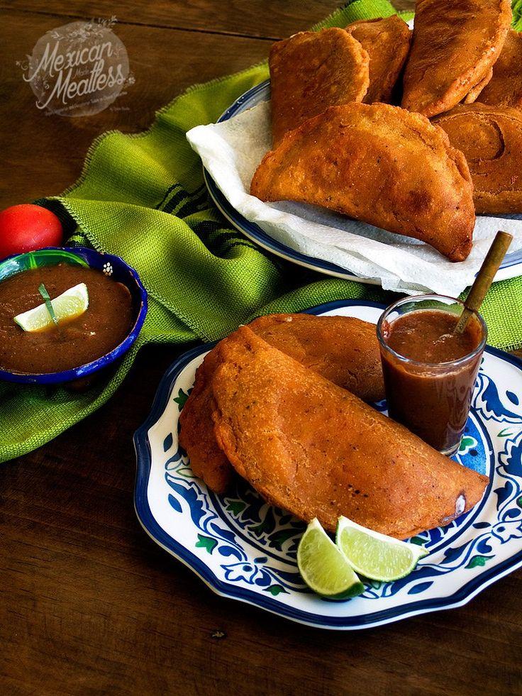 Black Bean and Oaxaca Cheese Empanadas | empanadas de frijoles negros y queso oaxaca