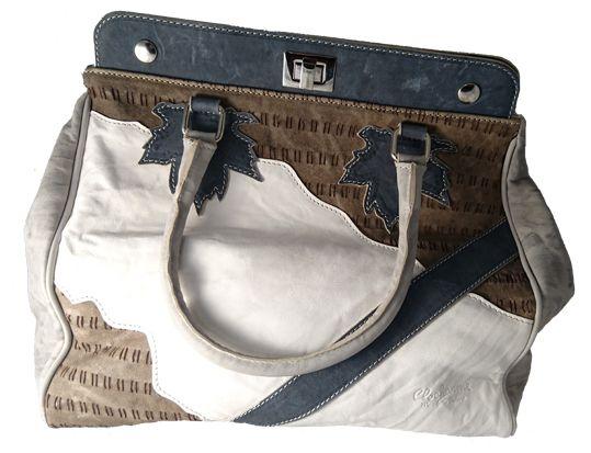 Italian leather handbag by Clocharme leather goods