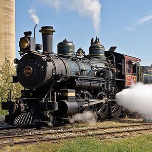 Trains and Water Parks in Grapevine Texas