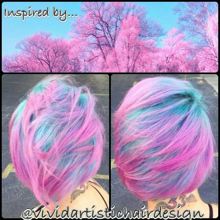 Cotton Candy Blue Hair: 17 Best Images About Hair