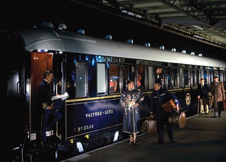 All aboard! The Orient Express