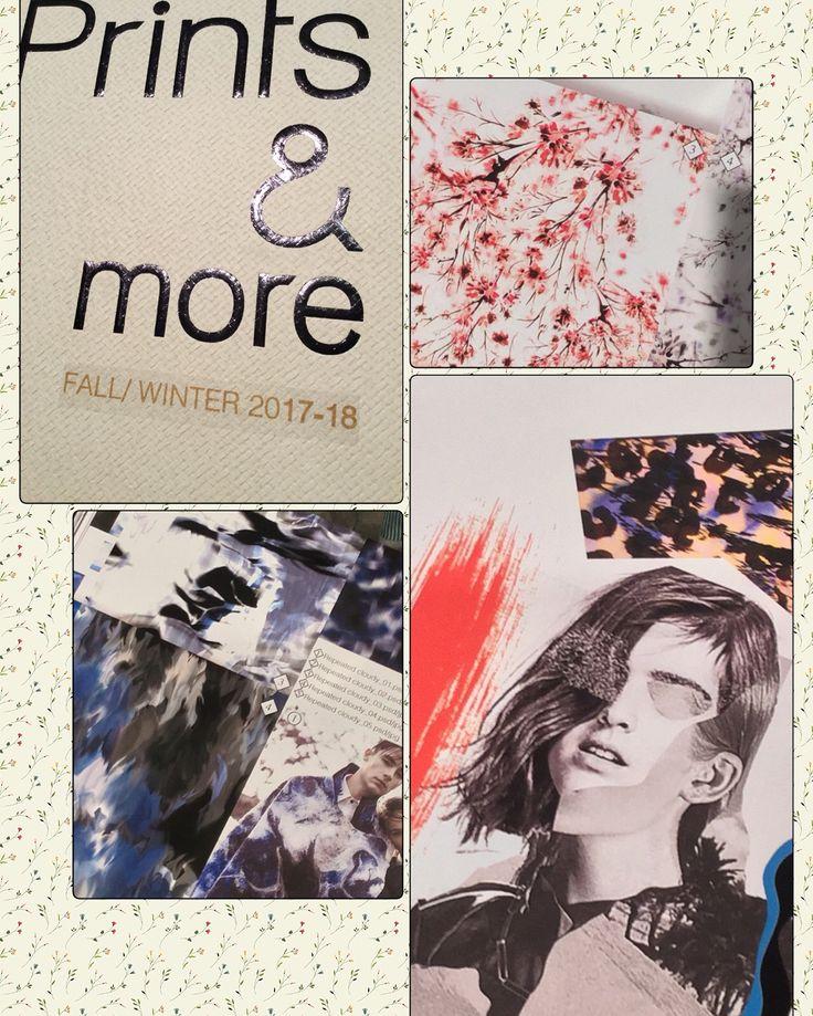 Prints & More AW 2017-18 Prints & More è un libro di stampe di tendenza, rivolto a tutte le società di produzione abbigliamento e vendita al dettaglio, accessori, tessuti per la casa, carte da parati, piastrelle, carta