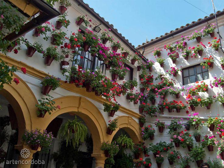 La Fiesta de los Patios de Córdoba es la más representativa del Mayo Cordobés. El Concurso fue declarado Patrimonio Intangible de la Humanidad por la UNESCO.