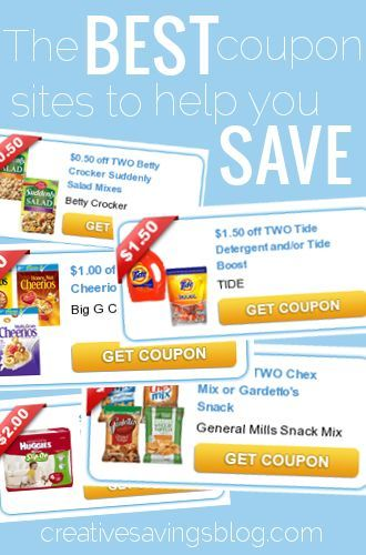 Long gone are the days of clipping paper coupons. Here is a list of the BEST online coupon sites to help you save.