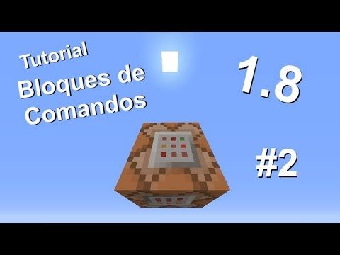 Minecraft 1.8 - Tutorial de bloques de comandos - Parte 2 - YouTube