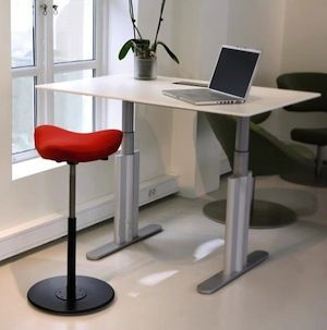 Move Stool by Varier - saddle chair, $475