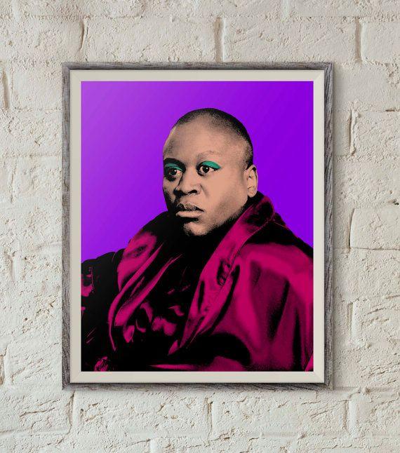 Titus Andromedon The Unbreakable Kimmy Schmidt Tituss Burgess Warhol-inspired Pop Art printable wall art. Peeno noir, caviar, myanmar,