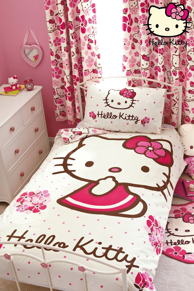 Pink hello kitty bedsheet - Buy Hello Kitty Bed Set From The Next Uk Online Shop
