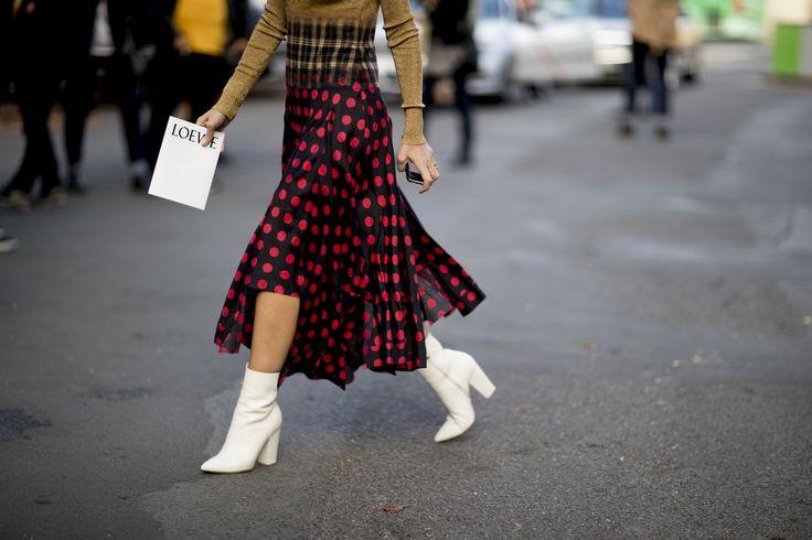 El mejor street style visto durante la Semana de la Moda de París