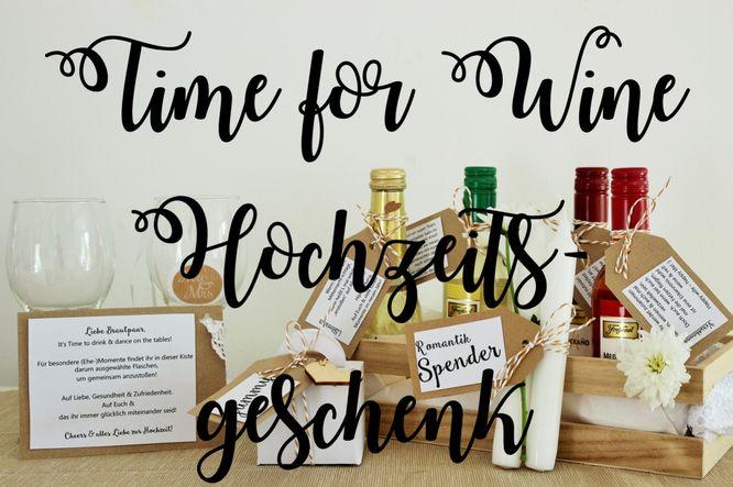 Partystories: Time for Wine Hochzeitsgeschenk