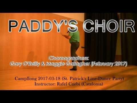 Paddy's Choir (Dance and Teach) - YouTube