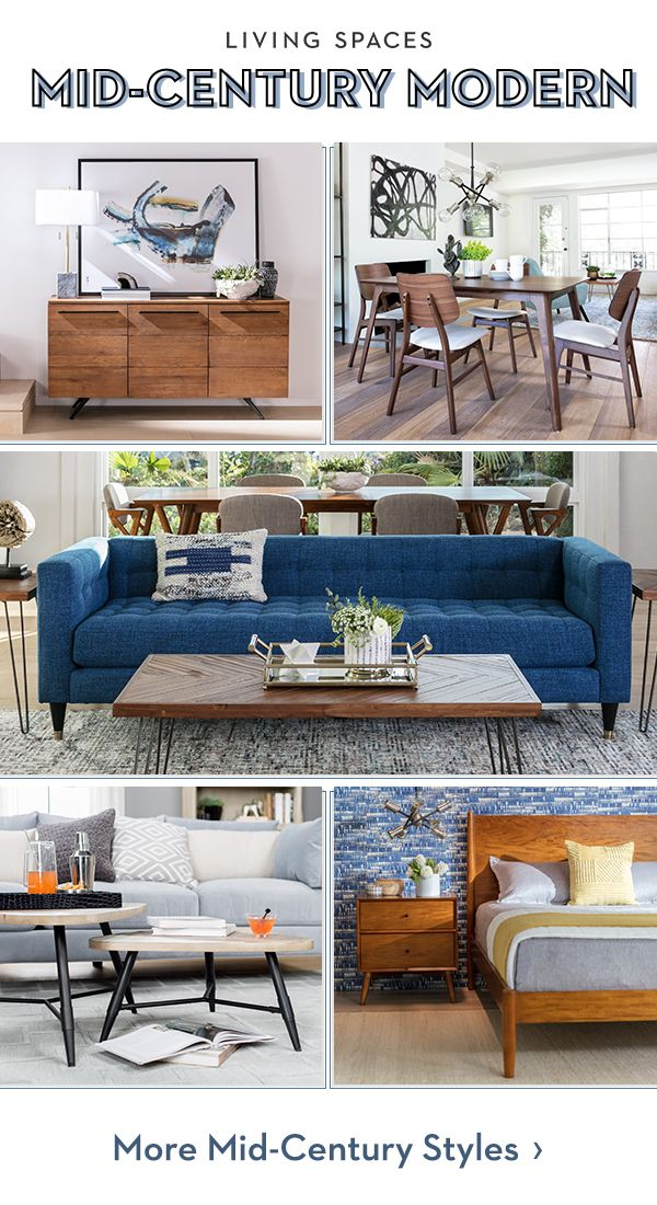 Mid-century modern furniture styles for the entire home.   Mid ...