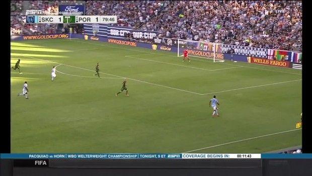 #MLS  SHOT: Daniel Salloi hits one wide right of goal