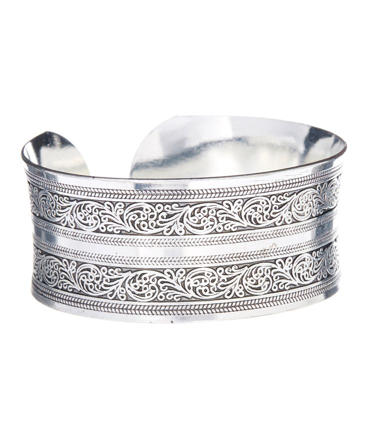 Cherished Retro Silver Plated Bracelet
