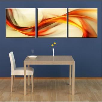 Set de cuadros decorativos Diseño Abstracto 3 piezas